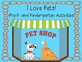 I Love Pets! Activities