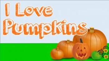 I Love Pumpkins! (video)