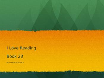 I Love Reading Lesson 28