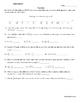 I Love Riddles! (Math Work)