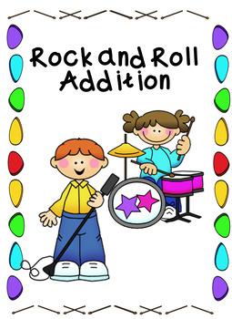 I Love Rock & Roll Addition Center Common Core