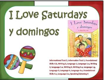I Love Saturdays y Domingos Reading Focus Wall