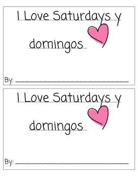 I Love Saturdays y Domingos: Ready Gen Writing Activity Book