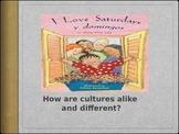 I Love Saturdays y Domingos Vocabulary Powerpoint