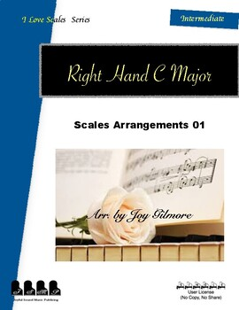 I Love Scales in C Major for the Right Hand Exercise 01