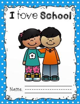 I Love School Booklet