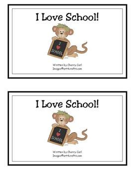 I Love School! Reproducible Guided Reader