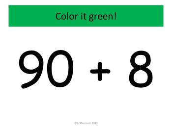 I Love Second Expanded Notation - Watch, Think, Color Game!