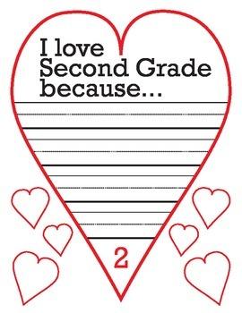 I Love Second Grade