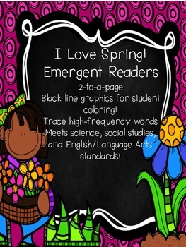 I Love Spring Emergent Reader