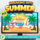 Summer Digital Escape Room - Breaking Into Summer #Distanc