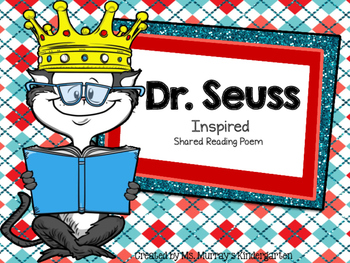 I Love To Read!! A Dr. Seuss Inspired Poem