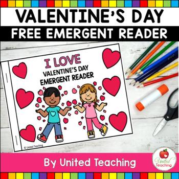 I Love Valentine's Day Emergent Reader