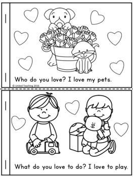 Valentine's Day Emergent Reader (FREE)