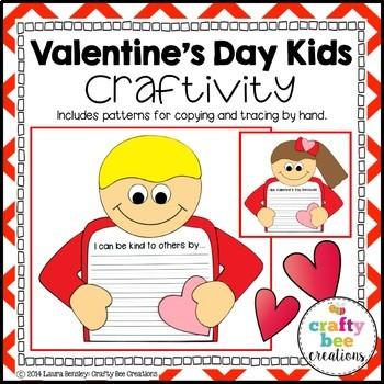 I Love Valentine's Day Craftivity