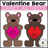 Valentines Day Craft {I Love You Beary Much}