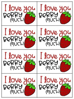 I Love You Berry Much {Mother's Day Gift}