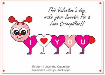 I Love You Caterpillar
