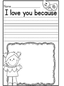 I Love You Class Book