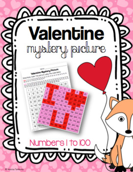 I Love You Mystery Picture 1-100 (Valentine's Day)