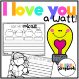 I Love You a Watt! (Valentine's Day Craft in English and Spanish)