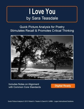 """I Love You"" by Sara Teasdale: Quick Picture Analysis"
