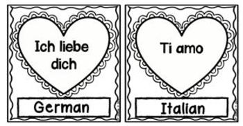 I Love You in Many Languages Bulletin Board Set