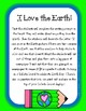 I Love the Earth! Earth Day Activity!