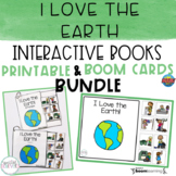 I Love the Earth Interactive Books BUNDLE | Printable and