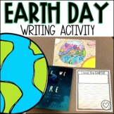 I Love the Earth Writing Activity