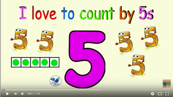 I Love to Count by 5s