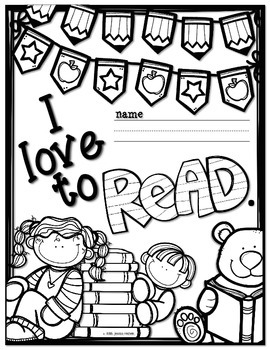 """I Love to READ"" Student Journals"
