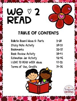 I Love to Read Activities & Bulletin Board Kit
