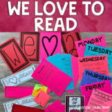 I Love to Read Activities   We Love to Read Bulletin Board Kit