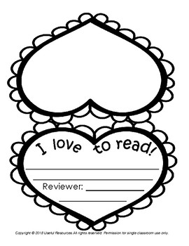 I Love to Read! Book Report