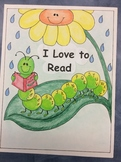 I Love to Read- A Reading Folder Cover Page for Grade 1-3 Students