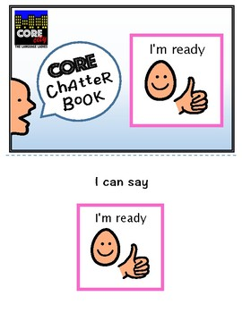 I'M READY: Interactive CORE City Chatter Book