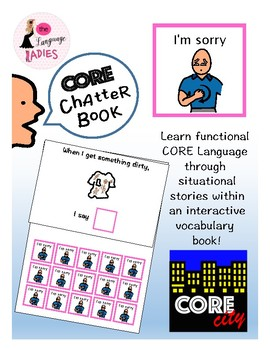 I'M SORRY: Interactive CORE City Chatter Book