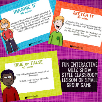I-MESSAGES: Conflict Resolution School Counseling Lesson about I-Statements