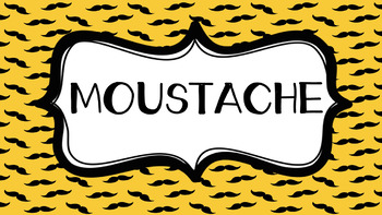 I MOUSTACHE You What Is ***Australian Spelling***