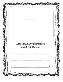 I MUSTACHE you a question - Creative Writing
