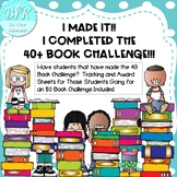 Gearing Up For and Rewarding the 40 Book Challenge!!!