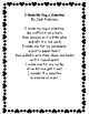 I Made My Dog a Valentine by Jack Prelutsky Poetry Center Pack