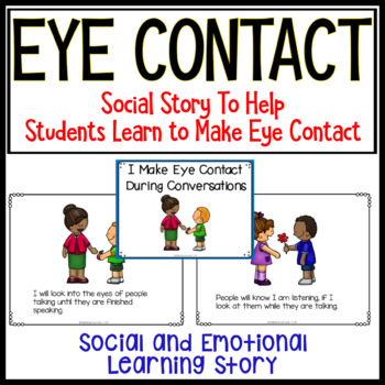eye contact in conversation
