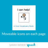 I/Me- Core Vocabulary Adapted Book
