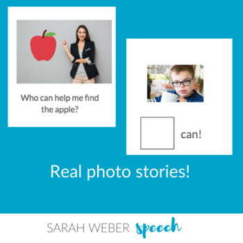 I/Me- Interactive Core Vocabulary Book