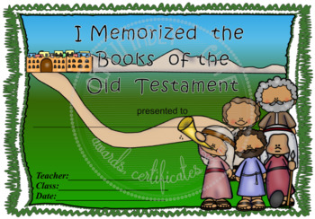 I Memorized the Books of the Old Testament - FREE!