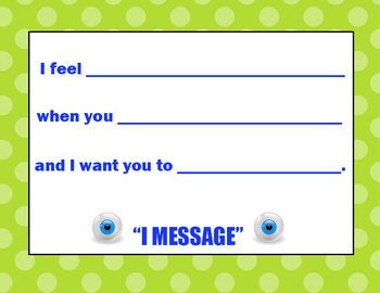 I Message Interactive Poster