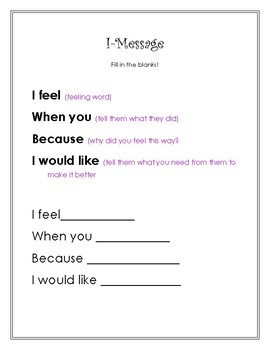 I-Message:What Should You Say Text Message
