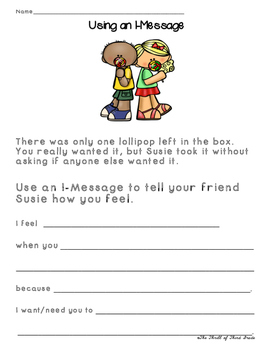 I-Message Worksheets